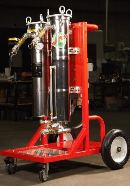 Mobile Fuel Polishing & Tank Cleaning System