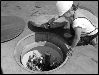 access-underground-fuel-tank