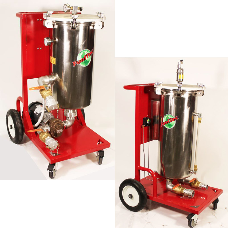 CF50E Commercial Mobile Fuel Cleaning System