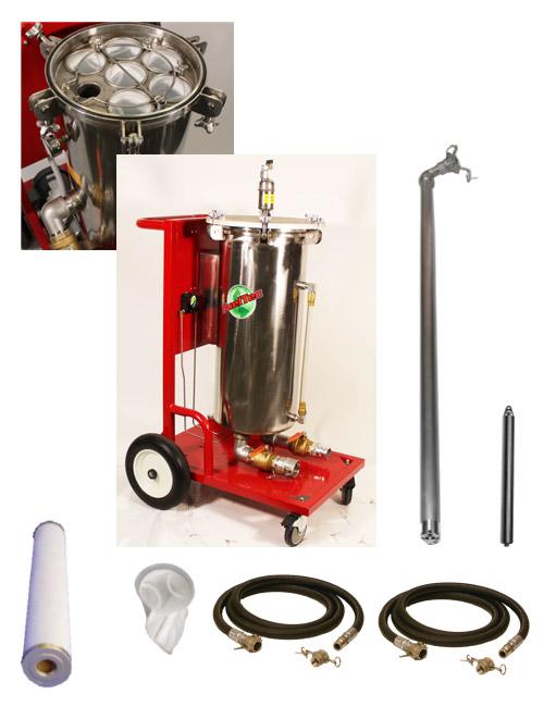Mobile-Pneumatic-Fuel-Water-Separator